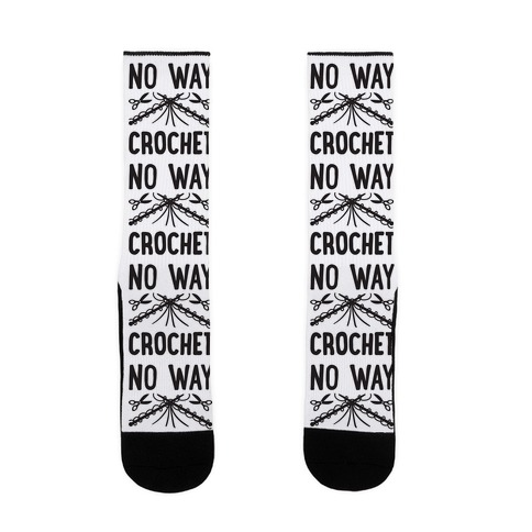 No Way Crochet Sock