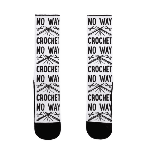 No Way Crochet Sock