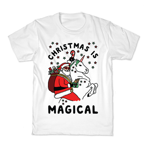 Christmas Is Magical Kids T-Shirt