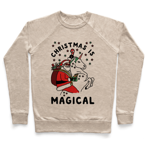 Christmas Is Magical Pullover