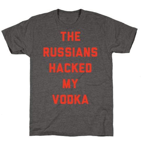 The Russians Hacked My Vodka
