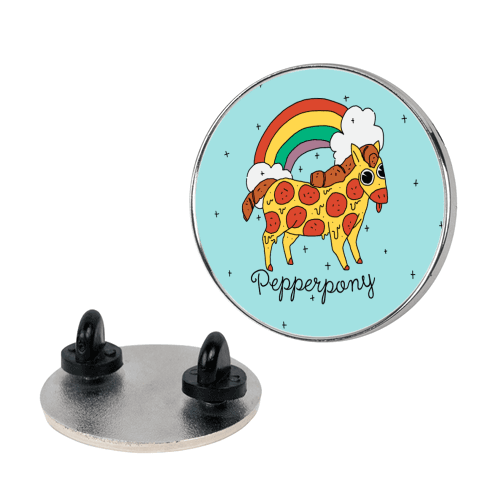 Pepperpony Pin