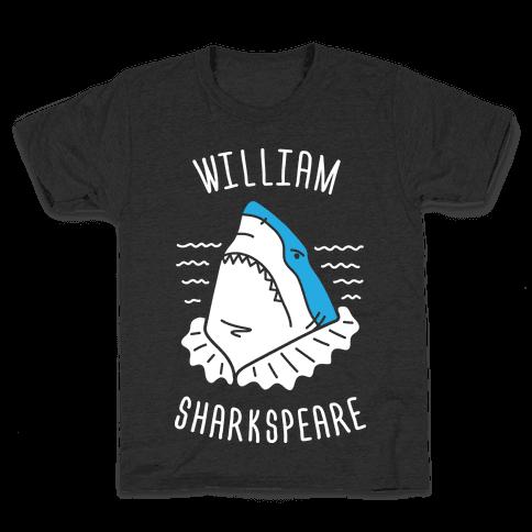 William Sharkspeare Kids T-Shirt