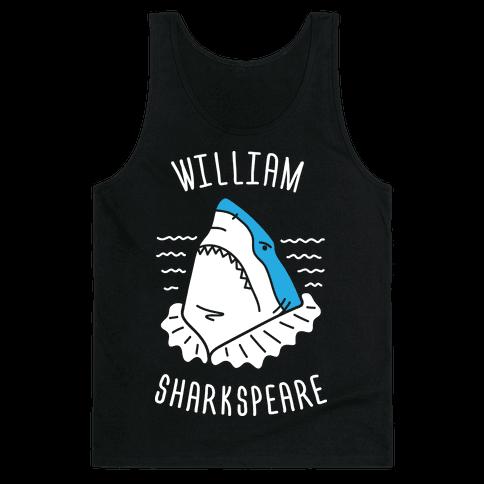William Sharkspeare Tank Top