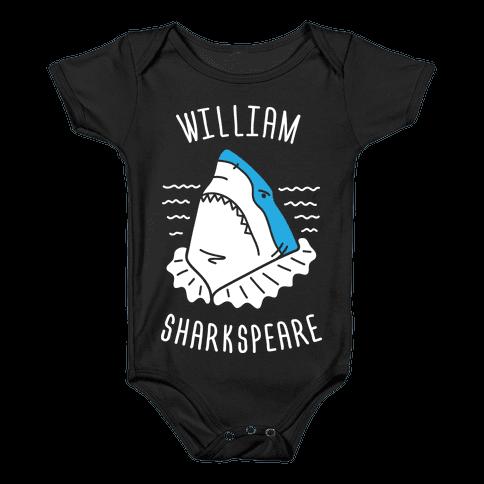 William Sharkspeare Baby Onesy