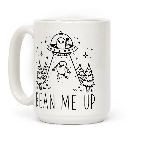 Bean Me Up Coffee Mug