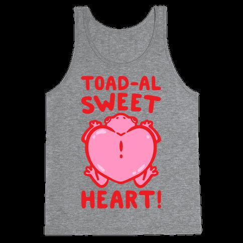 Toad-al Sweet Heart Tank Top