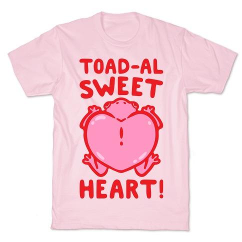Toad-al Sweet Heart Mens/Unisex T-Shirt