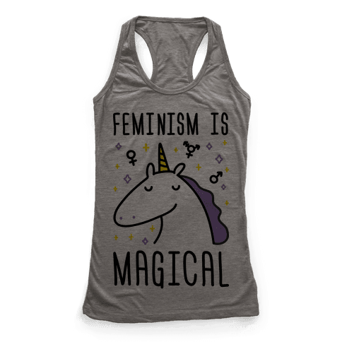 Feminism Is Magical Racerback Tank Top