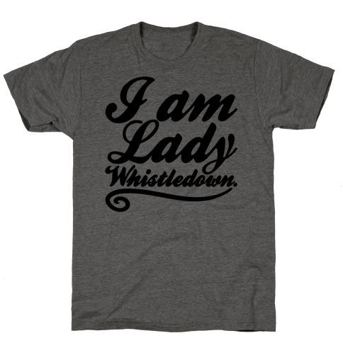 I Am Lady Whistledown Parody T-Shirt