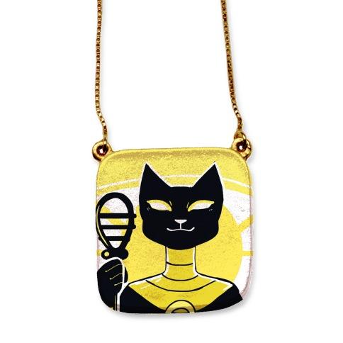 Feline and Divine - Bastet necklace