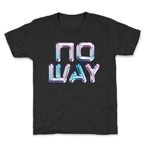 y2k No Way Kids T-Shirt