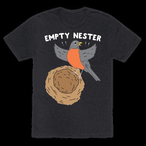 Empty Nester Happy Robin Mens T-Shirt