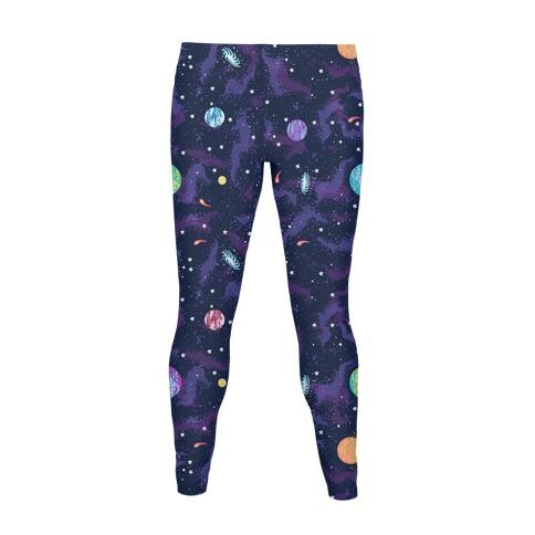 90s Cosmic Pattern Women's Legging