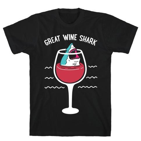 Great Wine Shark T-Shirt