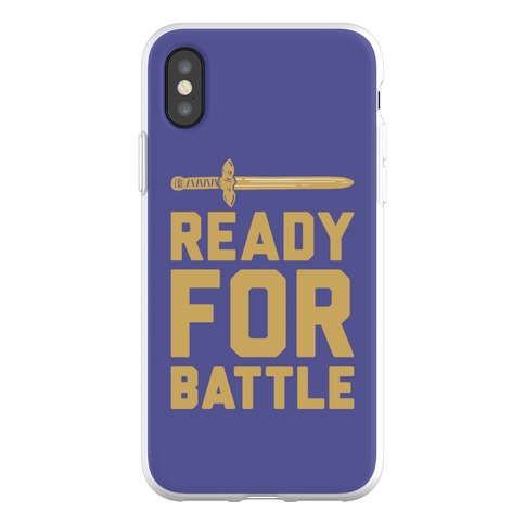 Ready For Battle Phone Flexi-Case