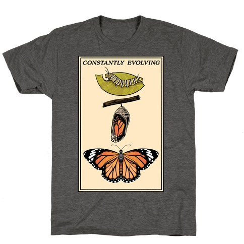 Constantly Evolving Monarch Butterfly T-Shirt