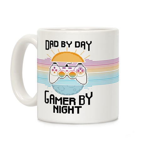 Dad By Day, Gamer By Night Coffee Mug