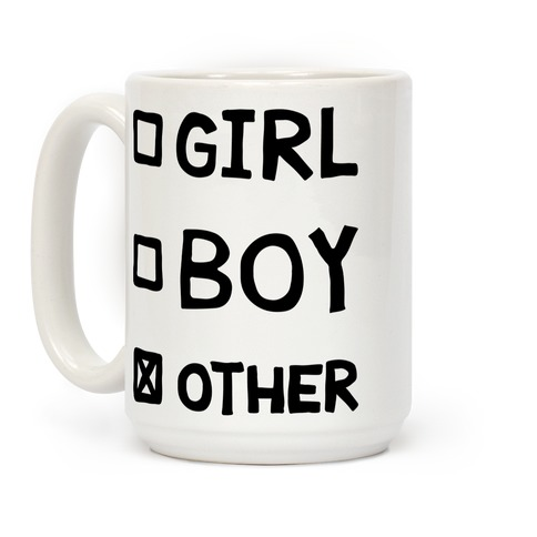Non-Binary Checklist Coffee Mug