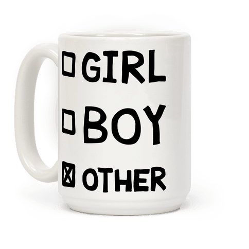 Non-Binary Checklist Coffee Mug