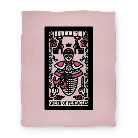 Creepy Cute Tarot: Queen of Pentacles Baba Yaga Blanket