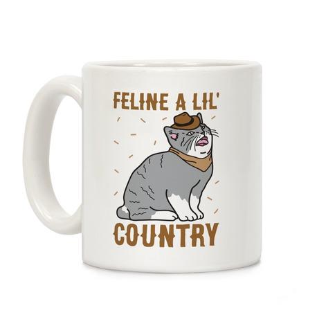 Feline A Lil' Country Coffee Mug