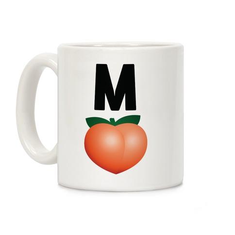 M Peach Impeach Coffee Mug