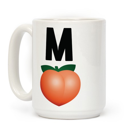 M Peach Impeach Coffee Mug