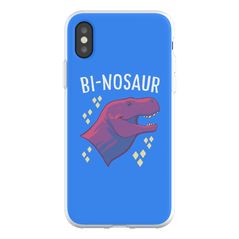 Bi-nosaur Phone Flexi-Case