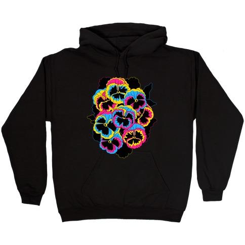 Pan-sy (Pansexual Pansies) Hooded Sweatshirt