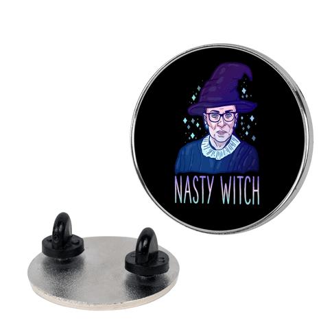 RBG Nasty Witch Pin