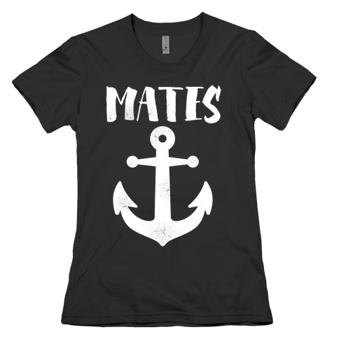 Best Mates Anchor Womens T-Shirt
