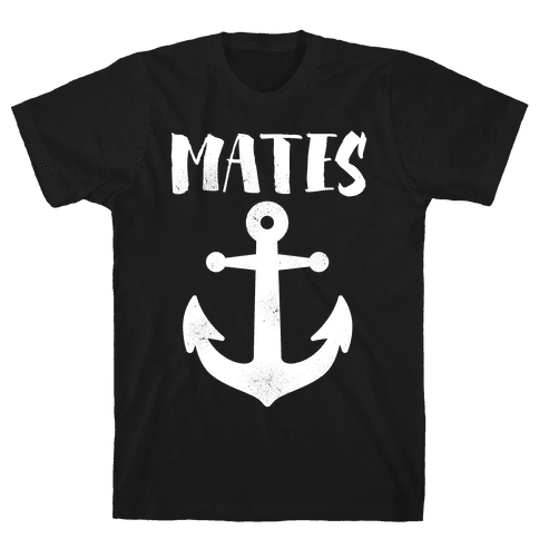 Best Mates Anchor Mens T-Shirt
