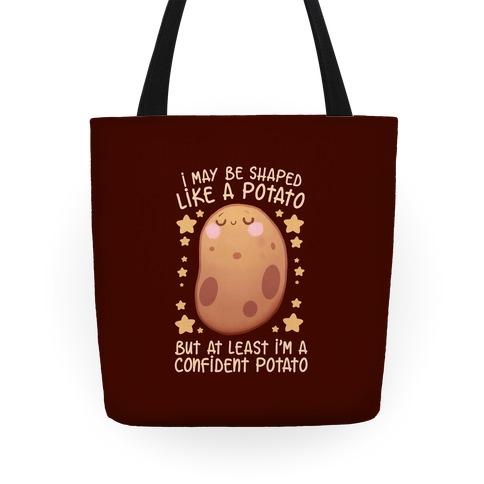 I'm A Confident Potato Tote