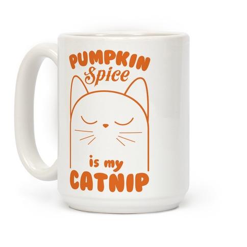 Pumpkin Spice Catnip Coffee Mug