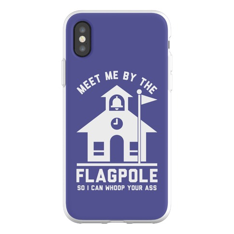 Meet Me By The Flagpole Phone Flexi-Case
