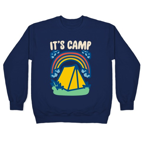 It's Camp White Print Pullover