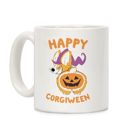 Happy Corgiween! Coffee Mug