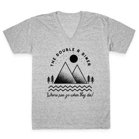 The Double R Diner V-Neck Tee Shirt