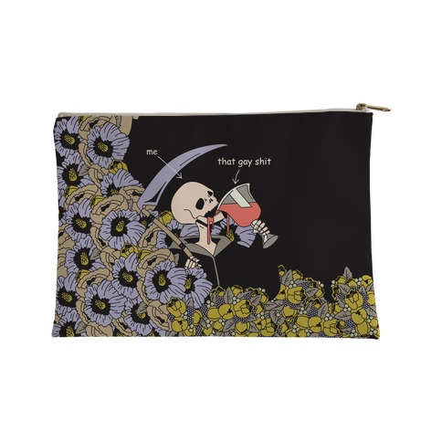 Skeleton Drinking Wine Accessory Bag