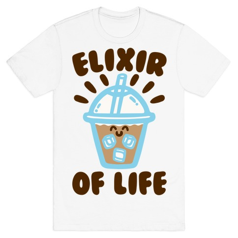 Elixir of Life Iced Coffee T-Shirt