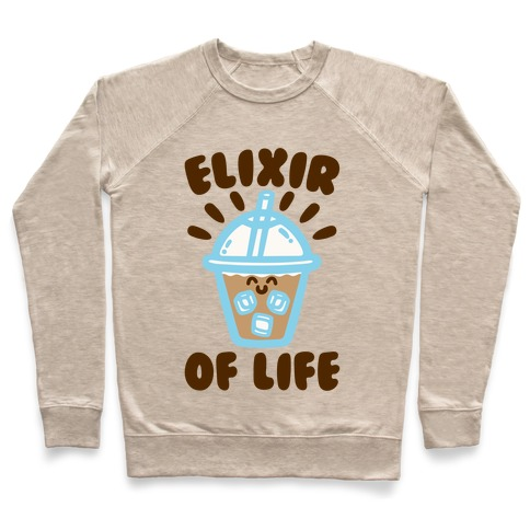 Elixir of Life Iced Coffee Pullover