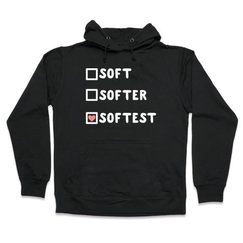 Soft Softer Softest Check list Hooded Sweatshirt