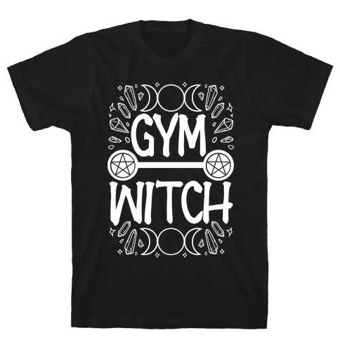 Gym Witch Mens/Unisex T-Shirt