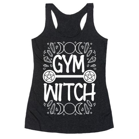 Gym Witch Racerback Tank Top