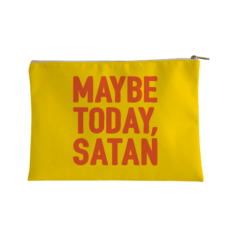 Maybe Today Satan Parody Accessory Bag