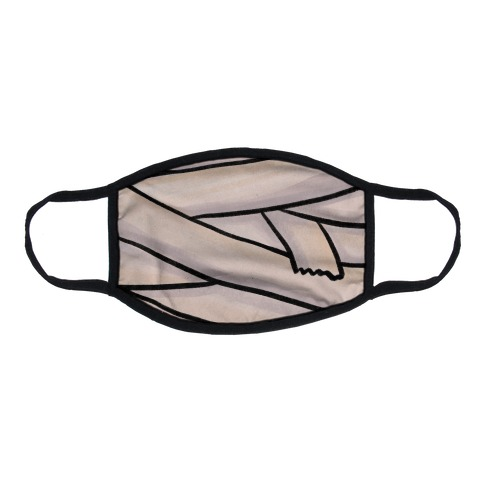 Mummy Wrap Flat Face Mask