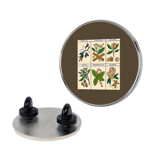 Holiday Spice Botanicals Pin