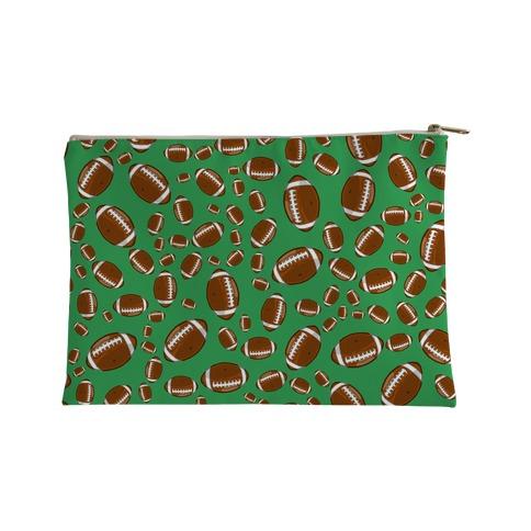 Footballs Pattern Accessory Bag