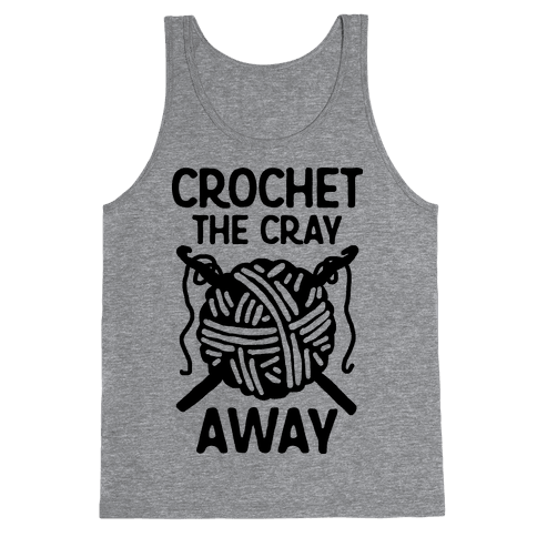 Crochet The Cray Away Tank Top